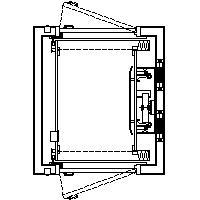 RL-1 750lb. 36x48