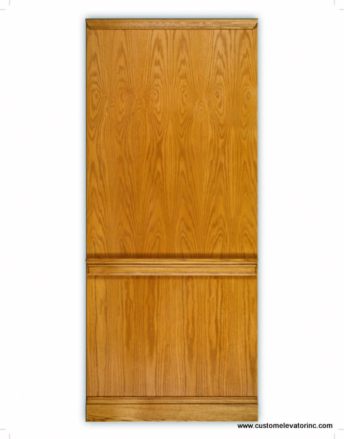 The Hampton Series oak veneer panel cab design is beautifully fitted with solid oak moldings available in several stains and solid color lacquer finishes.