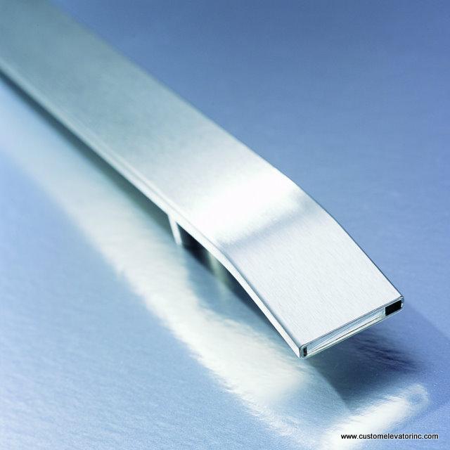 Brushed Stainless Steel Rectangular Bar