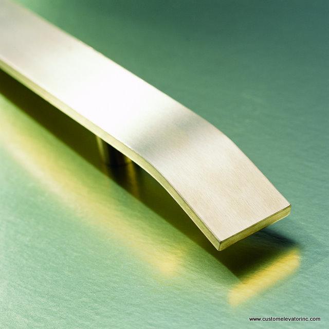 Brushed Brass Rectangular Bar