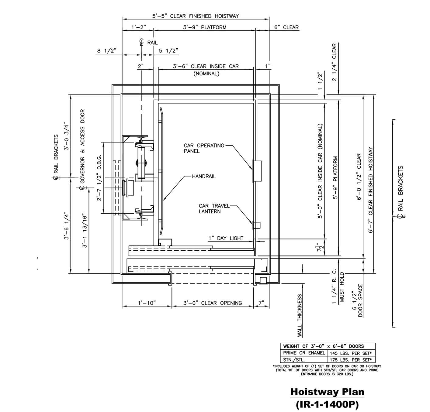 111 elevator plan drawing jordan elevator jec dwg free for Elevator plan drawing